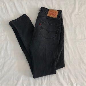Vintage 90's Levi's 511 Slim Fit Dark Denim Jeans